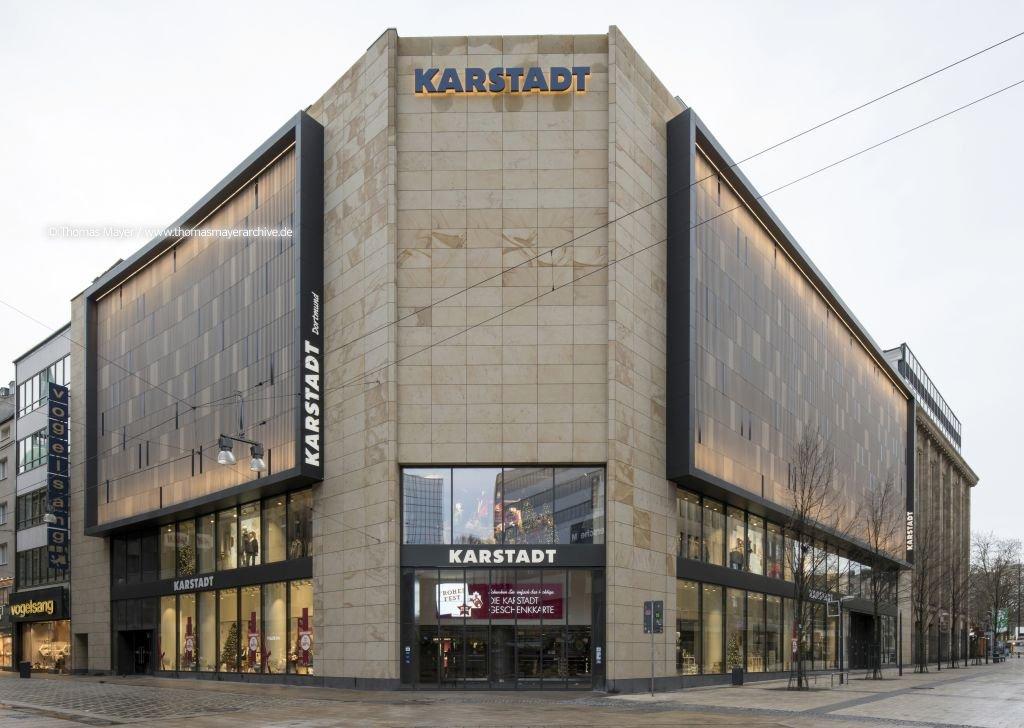 Architekt Dortmund karstadt dortmund neue fassade karstadt dortmund projekte